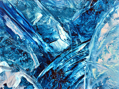 Hot Wax Painting - Galactica by Anne-Marie Coadebez