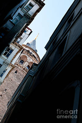 Galata Tower 10 Print by Rick Piper Photography
