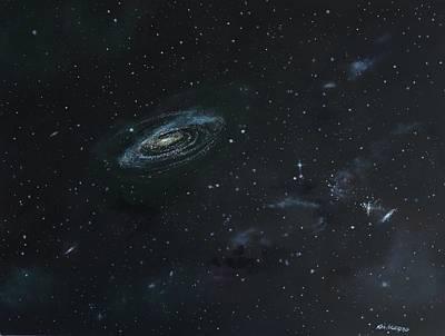 Galaxy Print by Ken Ahlering