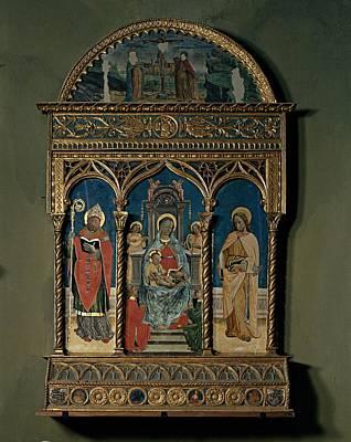 Galdino Da Varese , Jacobus De Prioris Print by Everett