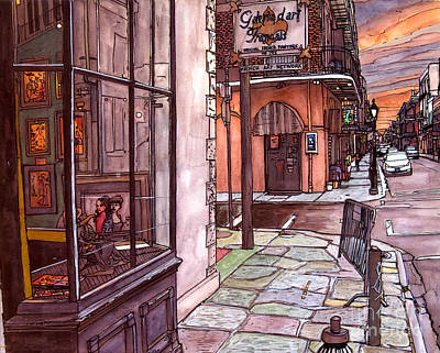 Galerie D' Art Francais Original by John Boles