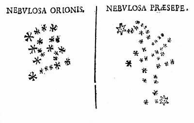Galileo's Observation Of Star Clusters Print by Universal History Archive/uig