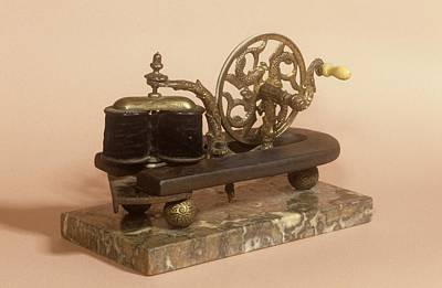 Galvanism Machine Print by Science Photo Library