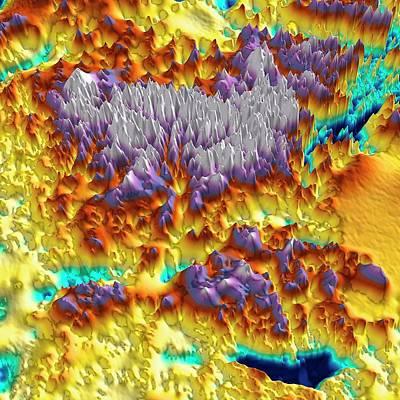 Mountain Photograph - Gamburtsev Subglacial Mountains by Tom Jordan/pete Bucktrout, British Antarctic Survey
