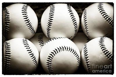 Game Balls Print by John Rizzuto