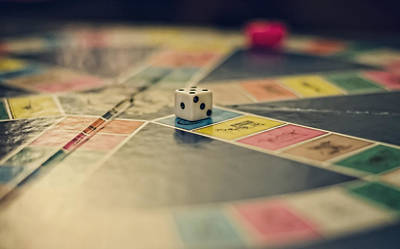 Board Game Photograph - Game On by Heather Applegate
