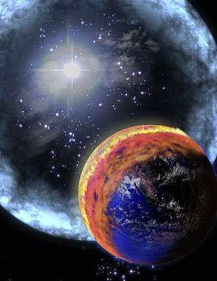Gamma Ray Extinction Event Print by Nasa