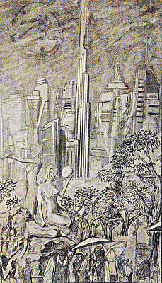 Gammora Print by George Harrison