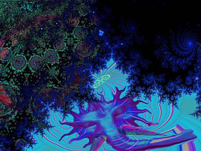 Pink Imaginary Monster Digital Art - Ganesh Blessings by Jason Saunders