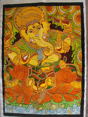 Kerala mural paintings for sale page 3 of 4 for Mural ganapathi