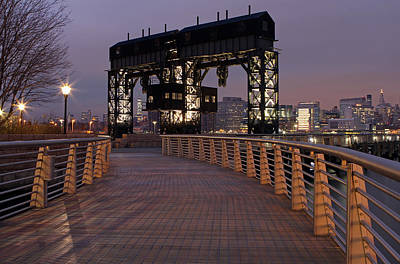 Gantry Plaza - Long Island City - Queens - Ny Print by Juergen Roth