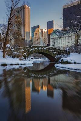 New York City Photograph - Gapstow Bridge by Susan Candelario