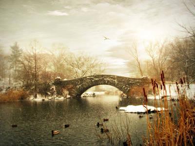 January Digital Art - Gapstow Winter by Jessica Jenney
