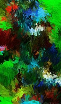 Garden In My Dream Print by David Lane