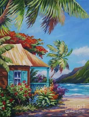 Bali Painting - Garden Isle by John Clark