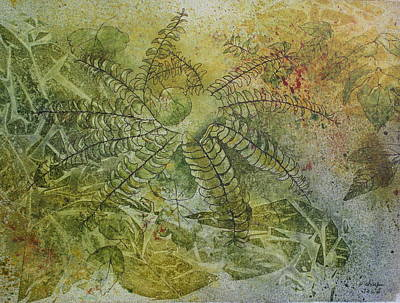 Painting - Garden Mist by Patsy Sharpe