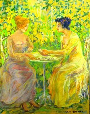 Garden Of Beauty Original by Shirl Solomon