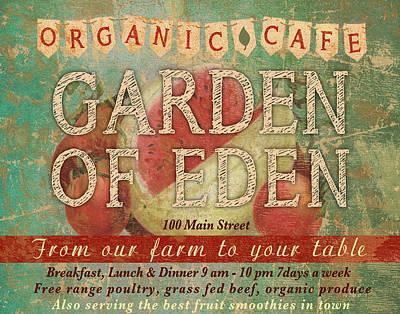 Garden Of Eden Print by Marilu Windvand