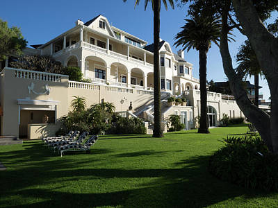 Chateau Photograph - Garden Of Ellerman House, Bantry Bay by Panoramic Images