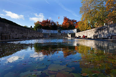 Garden Of Remembrance, Parnell Square Print by Panoramic Images