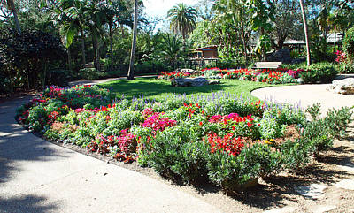 Garden Park Print by Aimee L Maher Photography and Art Visit ALMGallerydotcom