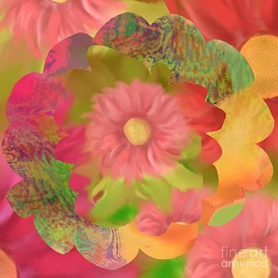 Garden Party Print by Christine Fournier