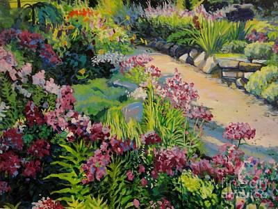 Garden Path Print by William Bukowski