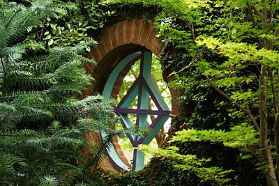 Photograph - Garden Window by Kim Pate