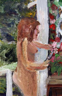 Pruning Painting - Gardening Au Naturel by Michael Helfen