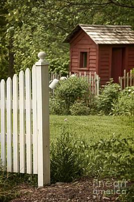Garden's Entrance Print by Margie Hurwich