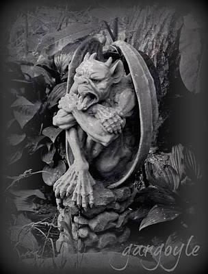 Gargoyle Print by Brenda Conrad