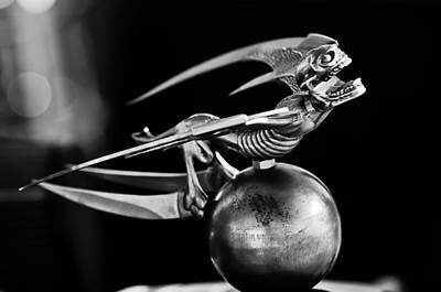 Gargoyle Photograph - Gargoyle Hood Ornament 2 by Jill Reger