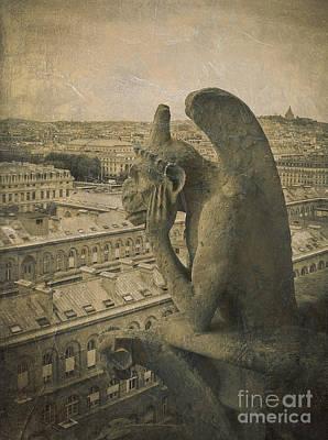 Gargoyle Photograph - Gargoyle Of Notre Dame by Diane Diederich