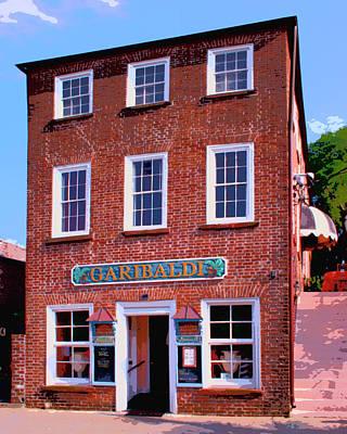 Storefront Photograph - Garibaldi Charleston Sc by William Dey