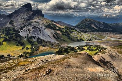 Mountain Scape Photograph - Garibaldi Views Of The Black Tusk by Adam Jewell