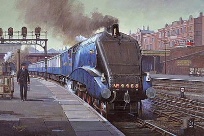 Garter Blue Original by Mike  Jeffries