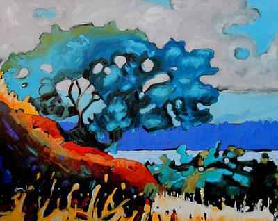 An Island Painting - Gary Oak Nfs by Rob Owen