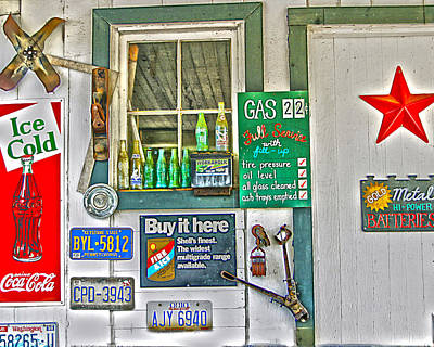 Gas 22 Cents Original by Frank Savarese