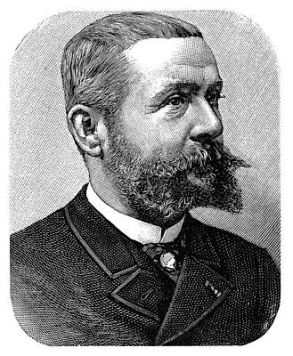 Gaston Tissandier Print by Science Photo Library