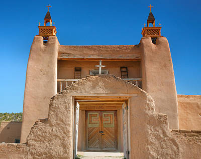 Adobe Church Photograph - Gate To San Jose De Gracia II by Steven Ainsworth