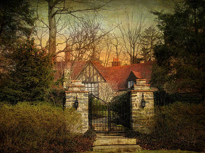 Gated Print by Jessica Jenney