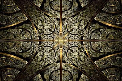 Gates Of Creation Print by Anastasiya Malakhova