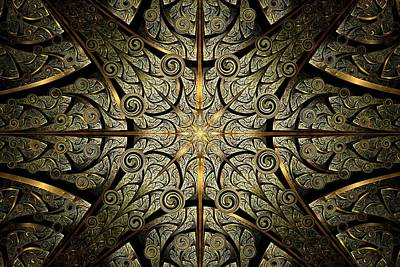 Portal Mixed Media - Gates Of Creation by Anastasiya Malakhova