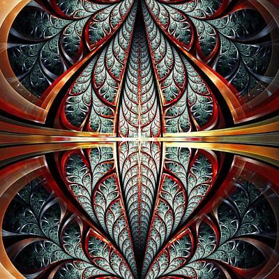 Portal Mixed Media - Gates Of Night by Anastasiya Malakhova