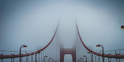 Fog Photograph - Gateway by Cameron Howard