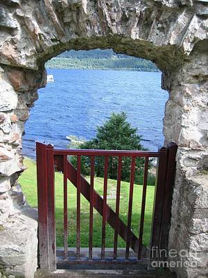 Nature Photograph - Gateway To Loch Ness by Denise Railey