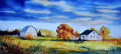 Gathering Clouds Original by Sarah Luginbill