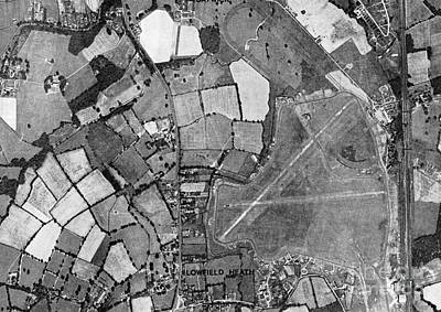 Gatwick, Historical Aerial Photograph Print by Getmapping Plc
