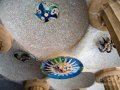 Gaudi Detail Print by Tim Holt