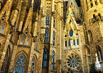 Gaudi - Sagrada Familia Print by Jon Berghoff